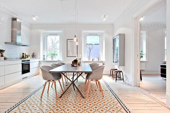 Keuken Interieur Scandinavisch : Scandinavisch wonen mooie keuken leuke stoeltjes azuleo