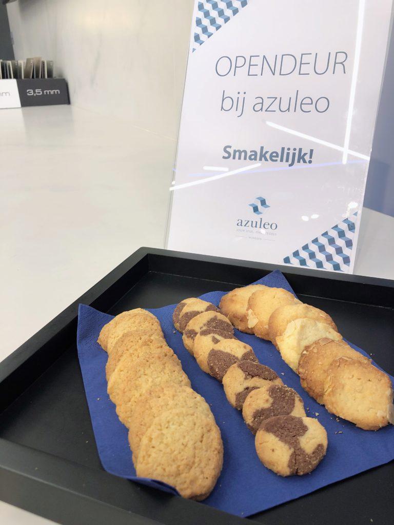 Opendeurmaand koekjes azuleo